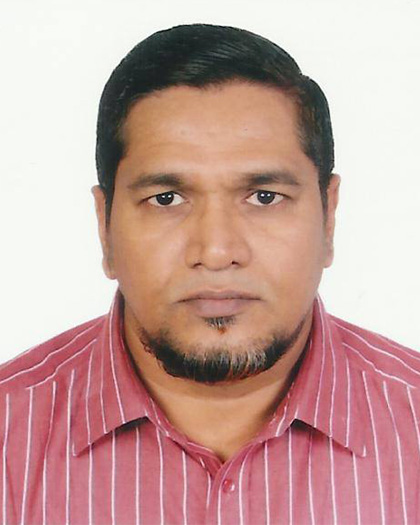 Md. Mahmud Ali, Consultant - Finance & Accounts, ICCCAD