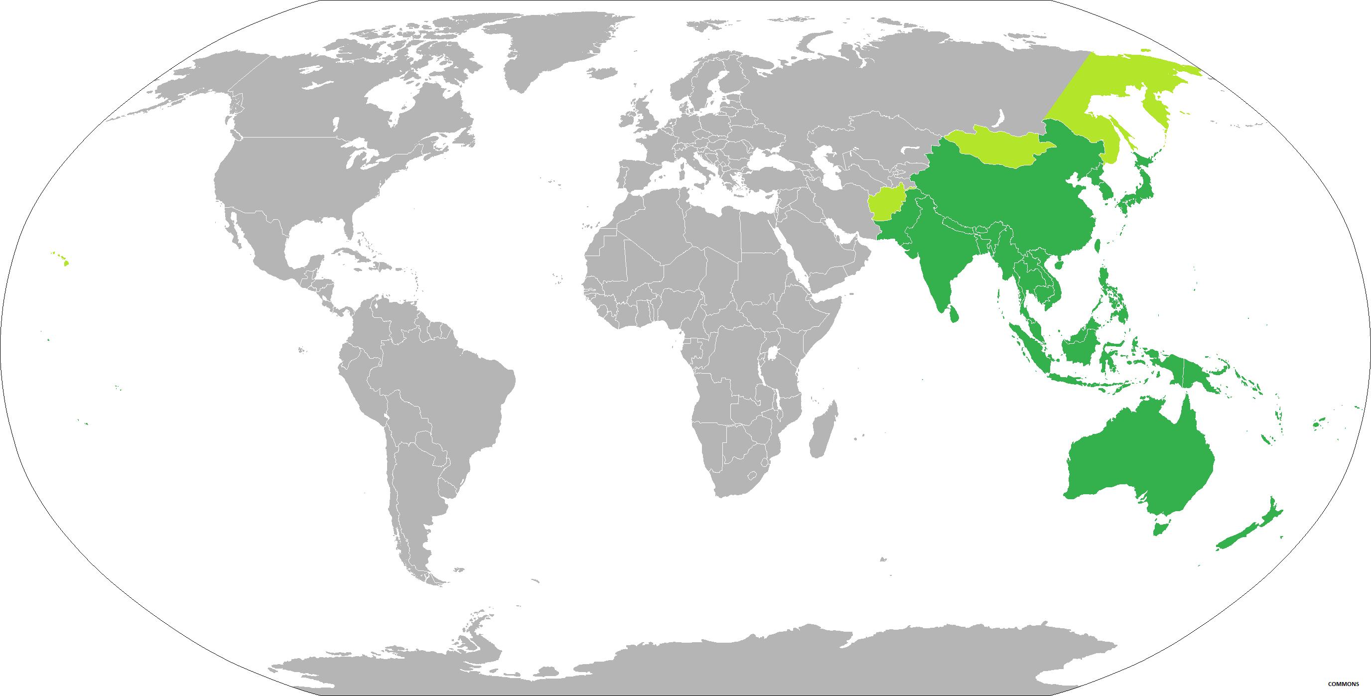 ASIA PACIFIC IN THE GLOBE