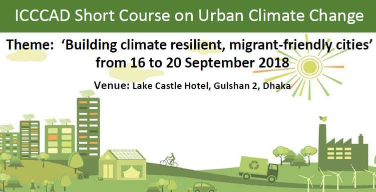 ICCCAD Short Course On Urban Climate Change