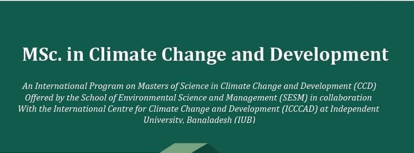 icccad-iub-msc-Climate-Change-and-Development